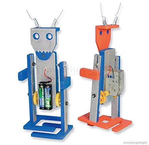 Matches21 - Robot de equitación con accionamiento eléctrico como kit de construcción para niños con juego de manualidades a partir de 13 años