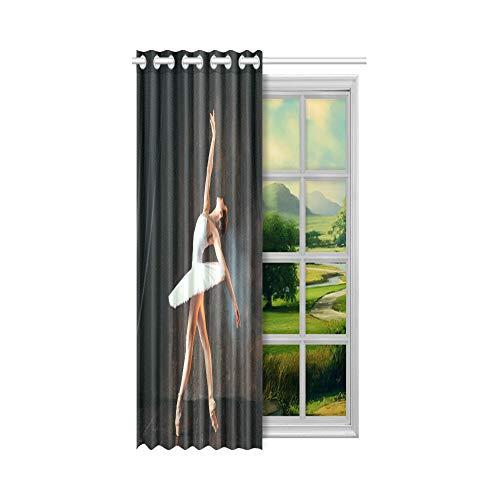 cortinas cortas bailarinas