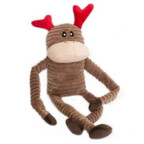 ZippyPaws - Holiday Crinkle Squeaky Plush Dog Toy Filled