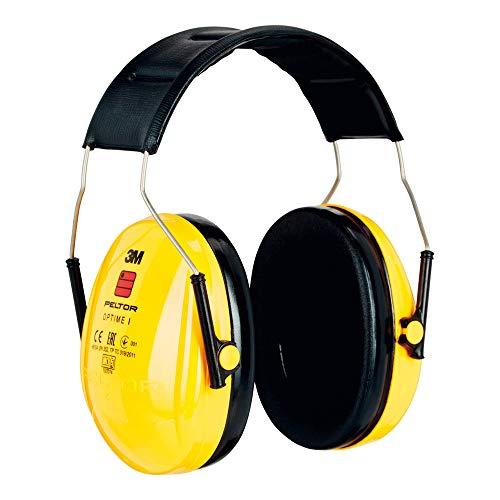 3M Peltor Optime I Kapselgehörschutz  mit Kopfbügel, gelb