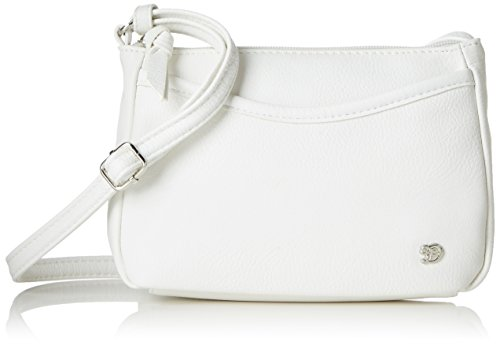 TOM TAILOR Umhängetasche Damen Cilia Henkeltasche, (Weiss), 4x14x21.5 cm, TOM TAILOR Handtaschen, Taschen für Damen, klein