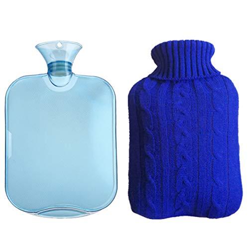 KISEER Classic Transparent Hot Water Bottle