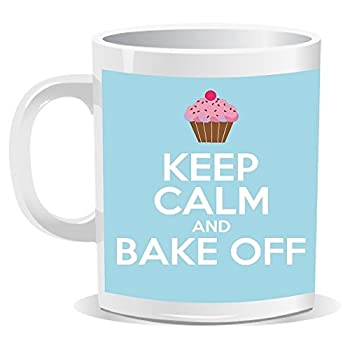 Keep Calm and Bake Off Mug - Baking Gifts - Open for Christmas