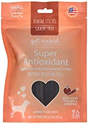 super antioxidant dental chew sticks for dogs