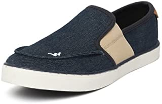 Wildcraft Men's Dela Navy Slip-On Sneakers (51551)