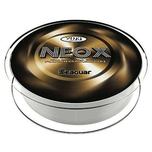 Seaguar Yuki Neox - Sedal de pesca (fluorocarbono, 100% invisible, Japón, 30 m, diámetro: 0,435 mm)