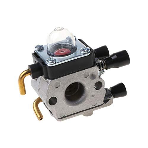 bibididi Carburador carburador para Cortador de Cepillo Stihl Fs38 Fs45, Pieza de cortadora de césped para cortacésped, bujías para cortacésped