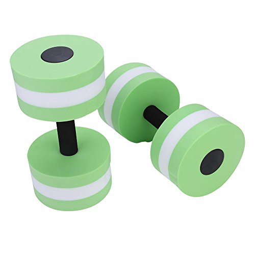 Best Deals! VGEBY 1Pair Aquatic Exercise Dumbbells, Water Aerobics Dumbbells for Therapy, Workouts, ...