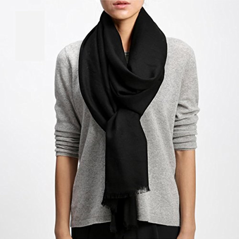 FLYRCX 80 highend Pure Wool Scarf Ladies Winter and Winter European Style Warm Shawl 220cmx70cm