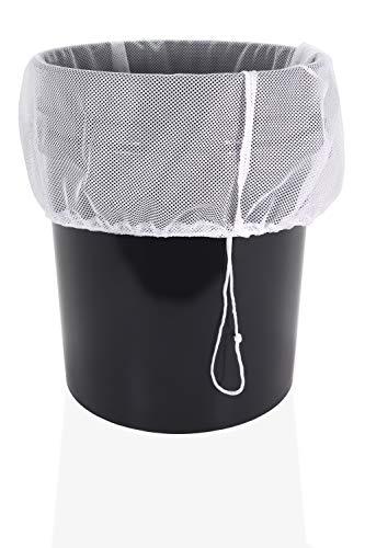 Veradura Bolsa de Malla de Filtrado para Prensar Sidra – 50,8 cm x 37,1 cm – con Cintas para Cierre Seguro para Prensado de Frutas, Sidra, Manzanas, Uvas, Vino y Mucho Más