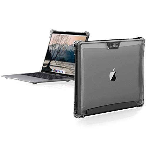 URBAN ARMOR GEAR UAG MacBook Air 13-inch Case (2018-2020 M1) (A1932, A2179, & A2337) Plyo Feather-Light Rugged [Ice] Military Drop Tested Laptop Cover