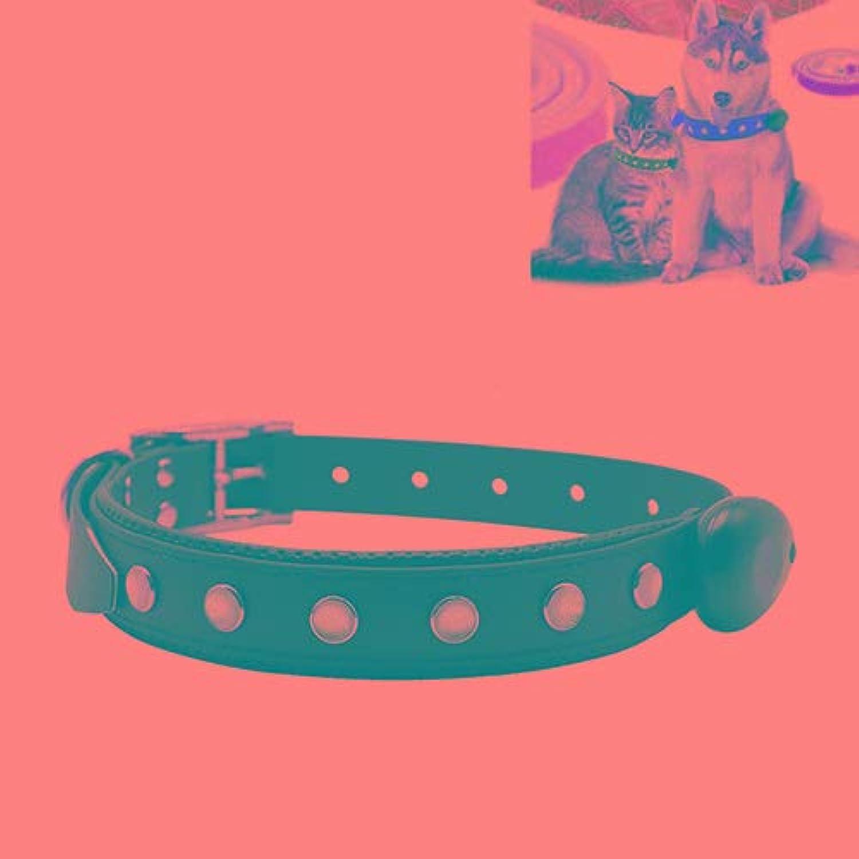 HHF Pet Supplies PVC Material Waterproof LED Light Adjustable Collar USB Rechargeable Pet Dogs Collar, Size  65  2.5 cm (color   Black)