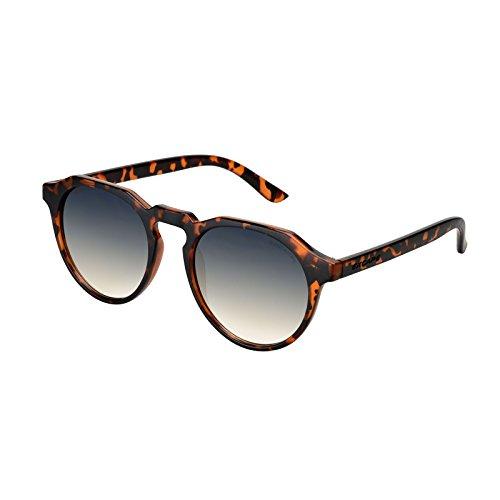 Excape me.too Living Sonnenbrille verschiedene Modelle Unisex UVA- und UVB-Schutz, Demi Marrone 3.6