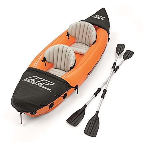 LJTT Kayak al Aire Libre Asalto Barco Engrosado Caucho Bote de Goma Barco Inflable Barco de Pesca Doble Canoa