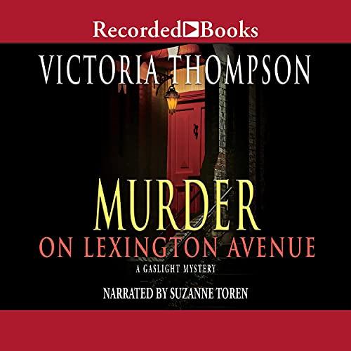 Murder on Lexington Avenue Audiobook By Victoria Thompson cover art