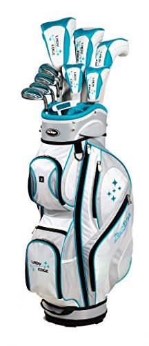 Tour Edge Women's 2014 Lady Edge Set, Right Hand, Graphite, Ladies, 6-PW,SW, 1""