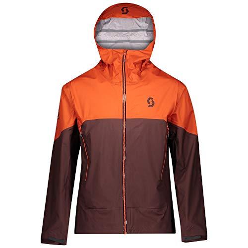 Scott Trail MTN WP fiets windjack oranje/rood bruin 2020