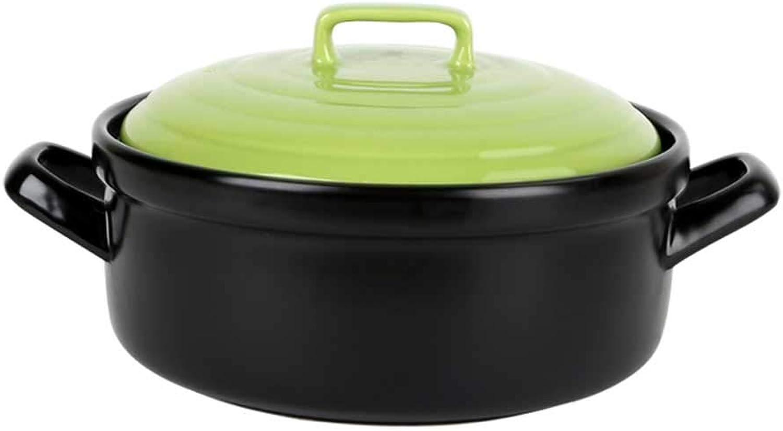 salida Olla LINGZHIGAN Cazuela cerámica Cocinas domésticas Salida Salida Salida 4 litros Seca Temperatura Resistente a la cazuela de Tangbao  envío rápido en todo el mundo