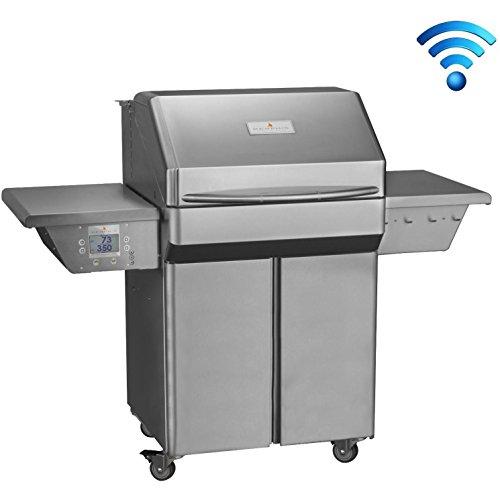 Memphis Wood Fire Grills Pro Cart w/WiFi - 430 SS Alloy
