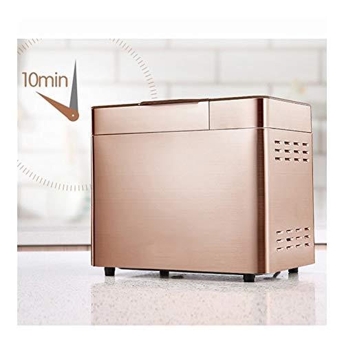 LQQ Vollautomatische Brotback Multifunktionales Intelligent Brotbackautomaten DIY Brotback Toaster