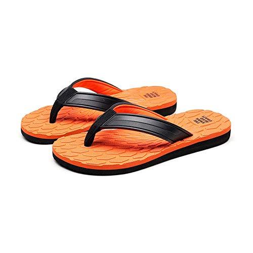 Cxcdxd Zapatillas de Masaje FLHLF para Mujeres, Use Zapatos de Playa Antideslizantes, Chanclas, Chanclas de Masaje tipográficas para Hombres, Chanclas de Goma para baño con Fondo Suave, Zapatilla