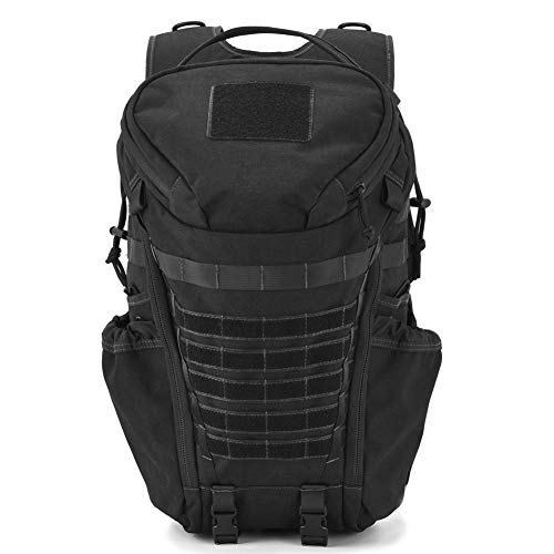 DIGBUG Military Tactical Backpack Army 3 Day Assault Pack Bag Rucksack w/Rain Cover Outdoor Hiking Camping Backpack