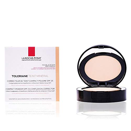La Roche Posay-Phas (L'Oreal) Toleriane Teint Mineral Compact Concealer Foundation-Pulver - Hellbeige (11 Hellbeige) 9,5 gr