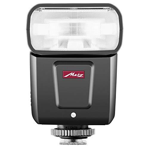 Metz M360 Blitzgerät für Nikon (ISO 100 und 105 mm, motorisierter Zoom, 14 mm Weitwinkel-Diffusor) Schwarz