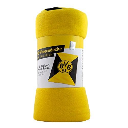 Borussia Dortmund BVB Fleecedecke 150 x 200 cm (6899)