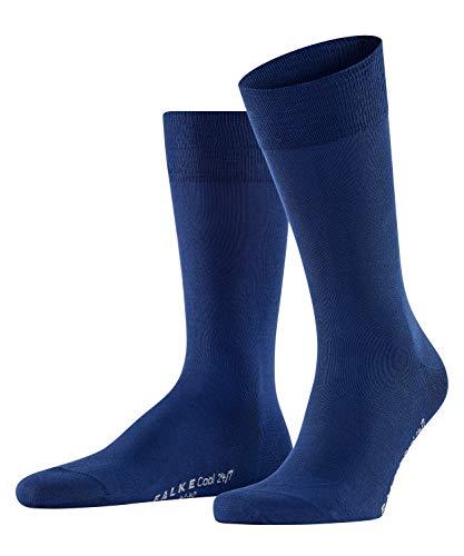 FALKE Cool Herren 24/7 M SO Socken, Blickdicht, Blau (Royal Blue 6000), 43-44