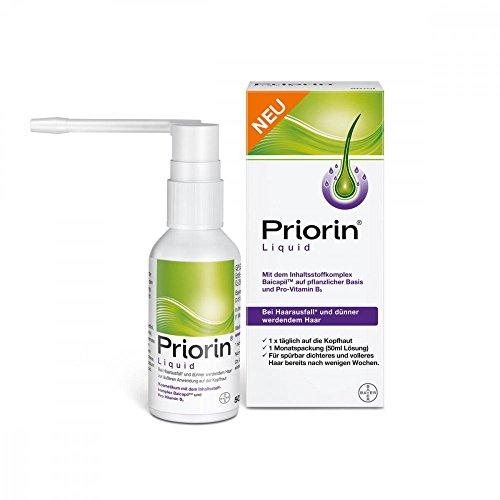 Priorin Liquid zur äußeren Anwendung bei Haarausfall(1) und dünner werdendem Haar, 50 ml