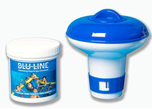 Small Dispenser with 10 Ultimate Chlorine Tablets 20g PLUS FREE TEST STRIPS