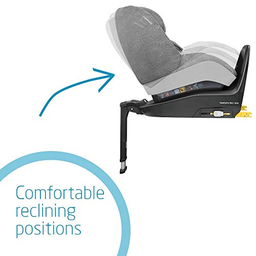 Maxi-Cosi FamilyFix One i-Size ISOFIX Base, Rearward-Facing Travel, Suitable from Birth, 0 Months-4 Years