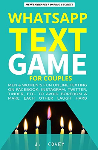 WhatsApp Text Game for Couples Front Cover