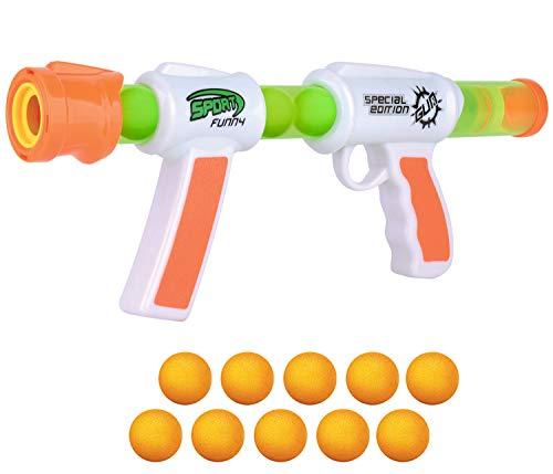 Atomic Six Shooter ballon en mousse Popper-Hog Wild Cheatwell Games jouet pour enfants