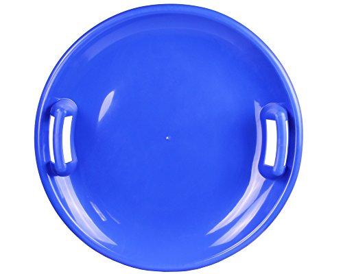 Ondis24 Tellerrutscher mit 2 Griffen Porutscher Tellerschlitten Schlitten Kunststoff blau 60 cm leicht, stabil & günstig