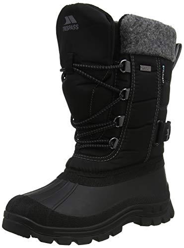 Strachan Youth Boys Snow Boot Black 38