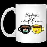 N\A Ma First Coffee Central Perk Luke 's Mug