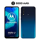 Motorola  Moto G8 Power Lite (Pantalla 6,5' HD+, procesador octa-core 2.3GHz, cámara triple de 16MP, batería de 5000 mAH, Dual SIM, 4/64GB, Android 9), Azul