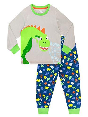 Harry Bear Pigiama per Ragazzi Dinosauro Multicolore 4-5 Anni