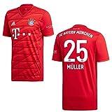 adidas Bayern Trikot Home Kinder 2020 - MÜLLER 25