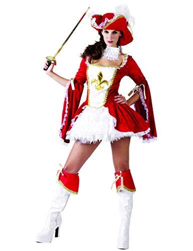 Generique - Musketier-Kostüm für Damen M / L