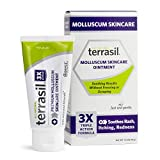 Molluscum Contagiosum Skincare Ointment New Formulation Gentle Safe for Children Guaranteed All Natural for Treating Symptoms Including Redness Bumps Itch 45g by Terrasil