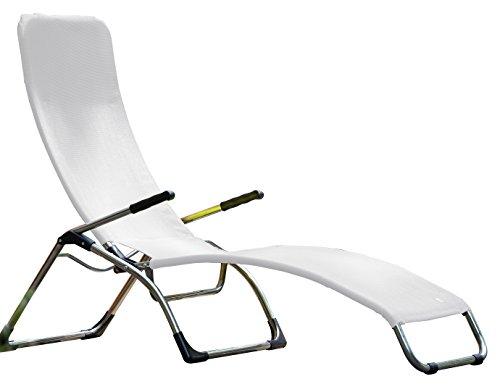 Jan Kurtz Fiam Samba Weiß Terrassenliege Relaxliege Weiss Saunaliege 471209 design Matthias Philipps