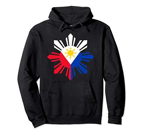 Philippine Flag Hoodie Pinoy Flag Filipino Shirt Pinoy Sun