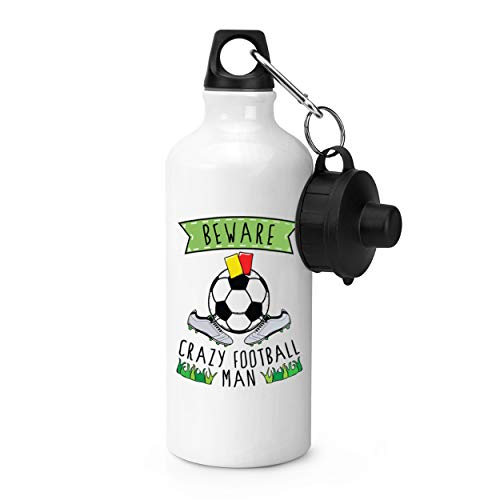 Gift Base Attention Fou Football Homme Bouteille Sports