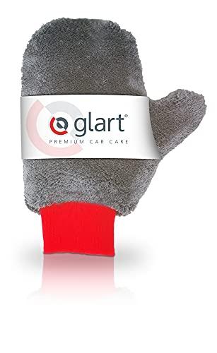 Glart - Guante de microfibra para llantas de aluminio para el cuidado del coche, moto o bicicleta sin usar cepillo, 27 x 12 cm