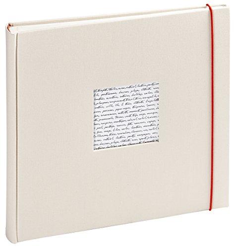 Panodia 271124 Linea Traditionnel Album Photo avec 60 Pages Blanc Casse 10 x 15 cm