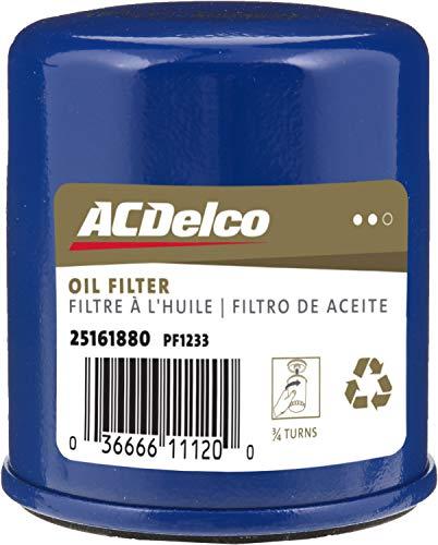 ACDelco GM Original Equipment PF1233 Engine Oil Filter