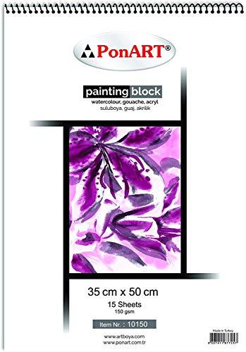 PonART Cuaderno de pintura/cuaderno de bocetos, granulado talla única